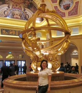 The Venetian lobby in Macau