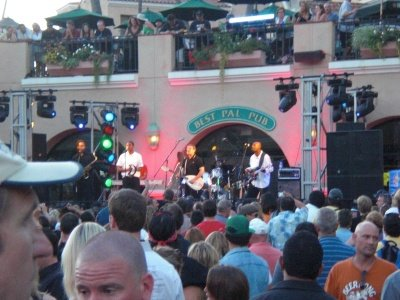 English Beat concert at the Del Mar Racetrack