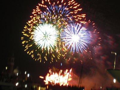 Fireworks in Venice Italy
