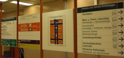 Austrian Hospital signage