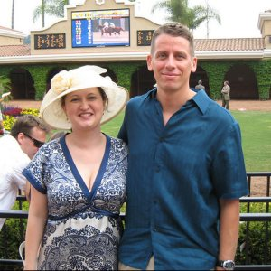 Lura and Mas Opening Day Del Mar Races
