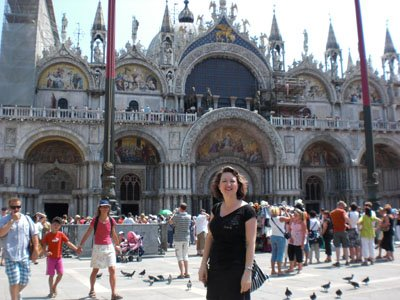 Lura in Venice Piazza San Marco
